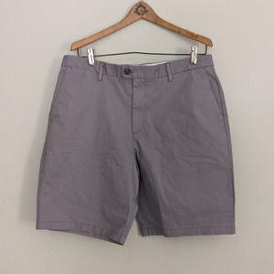 Calvin Kein Gray Khaki Shorts 34W